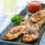 Grilled Chcken Tender Skewers